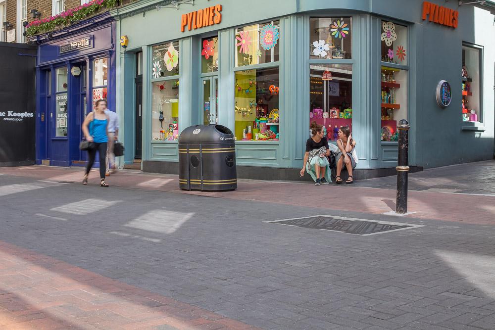 Streetscene at Carnaby Street, London