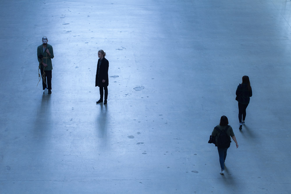 Tate Modern Turbine Hall - people in public space